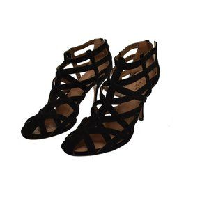 Alaia Calzature Donna Black Suede Women's Heels Euro Size 39